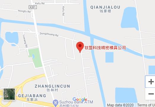 Suzhou Taimon Mold Map